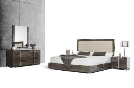 Cape Cod Grey  5-pcs Bedroom Collection