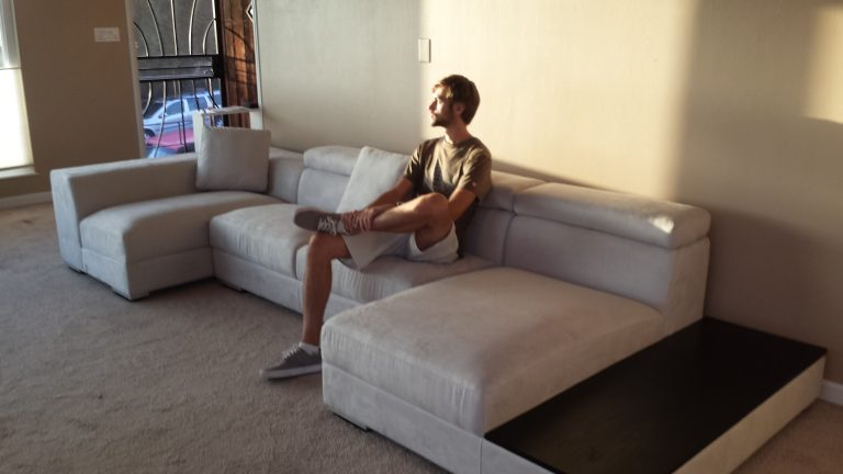 """Read more about the article New Sectional for a New """"Remodel"""" Home"""
