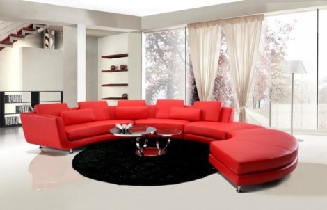 Jewel's Contemporary   Sectional