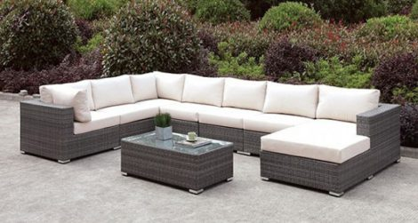 Romeo's 8 PC Outdoor Sectional Collection