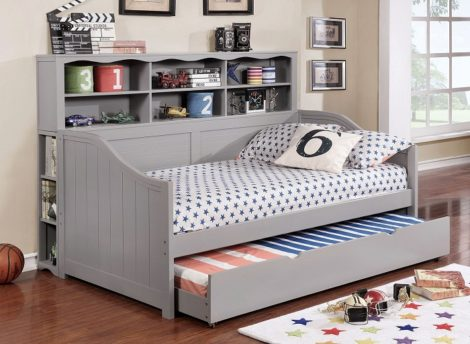 Shoreline's Daybed W-Bookcase and Trundle