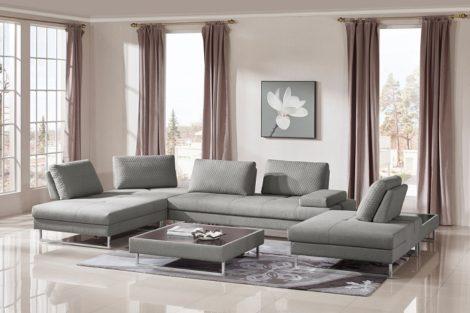 Lara's Sectional - Sofa & Coffee Table Set