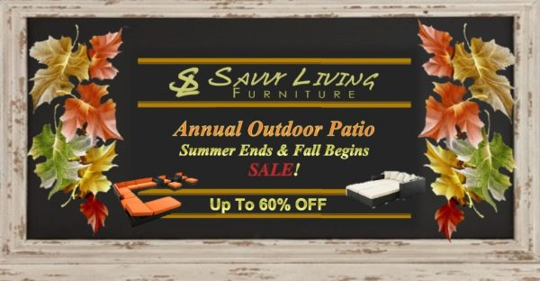 OUTDOOR, PATIO & POOLSIDE FURNITURE – END OF SUMMER BLOWOUT SALE!!!