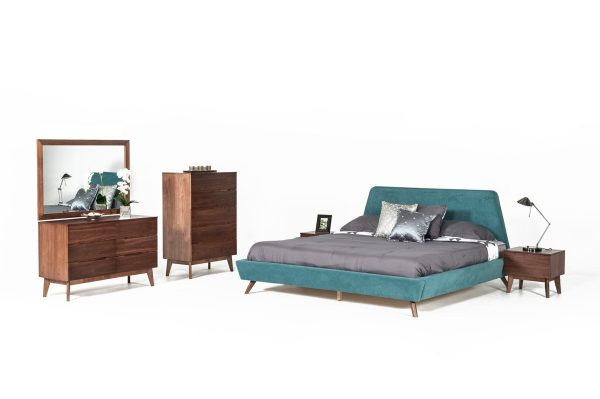 """The Anthony"" Mid-Century Teal Bedroom Set – COMING IN SEPTEMBER!"