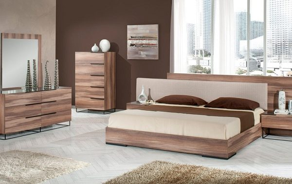 """The Anya"" Beige Italian Bedroom Collection"