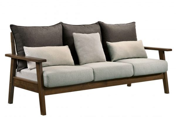 """The Bachelor"" Mid-Century Modern Multi-tone Reversible Sofa Collection – SOFA ONLY!"