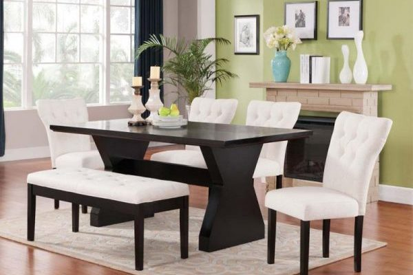 """The Clinton"" Elegant Ivory Dining Collection – SOLD OUT, NO ETA"