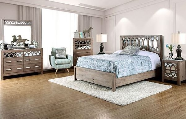 """""""The Comfort Time"""" Aged Wood Bed – CLOSEOUT!"""