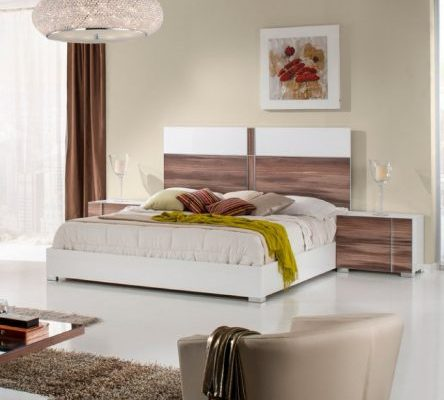 """The Elektra"" White Cherry Bedroom Collection – CLOSEOUT, ONLY 2 REMAINING!"
