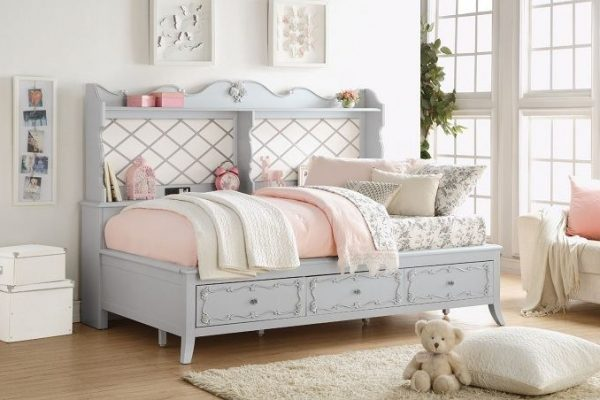"""The Evelyn"" Twin Daybed w/Storage – SOLD OUT, NO ETA"