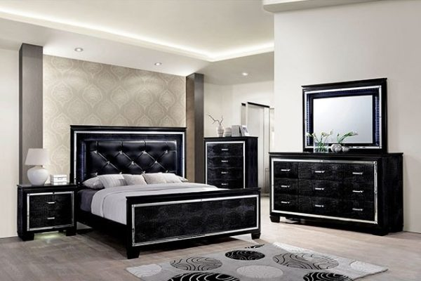"""The Highlands"" Black 5 PC Bedroom Collection – COMING IN APRIL!"
