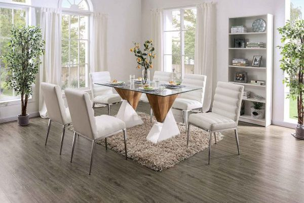 """The Jumanji"" Contemporary Two-Tone Dining Set – COMING IN APRIL!"