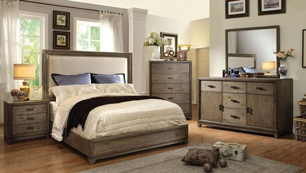 """The Lunar"" Gray Platform Bed Collection – COMING END OF DECEMBER!"
