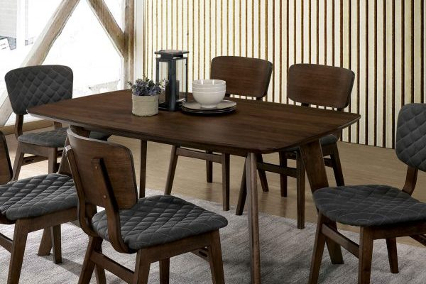 """The Mid Century"" Modern Grey Walnut Dining Collection – COMING IN DECEMBER!"