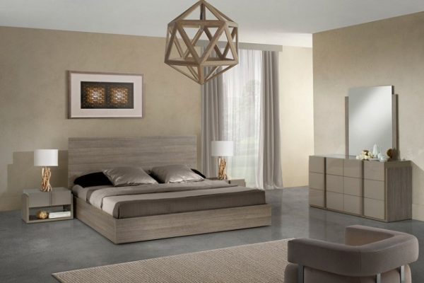 """The Milan"" Italian Modern Bedroom Set"