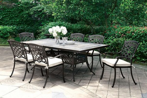 """The Orlando"" 7 PC Outdoor Dining Collection – COMING END OF JUNE!"