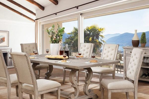"""""""The Prudence"""" Elegance 7 PC Dining Collection"""