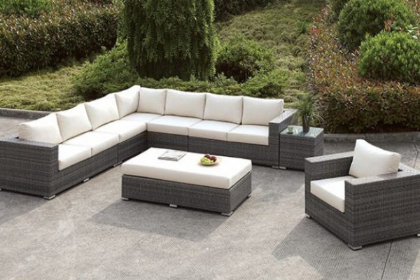 """The Romeo"" 10 PC Outdoor Sectional Collection"