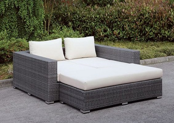 """""""The Romeo"""" Outdoor Daybed – SOLD OUT, NO ETA"""