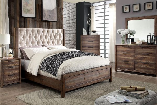 """""""The Sierra"""" Tufted Wood Grain Bedroom Collection – COMING END OF NOVEMBER!"""