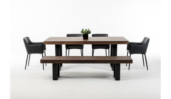 """The Skylar"" Modern Wenge Dining Collection"