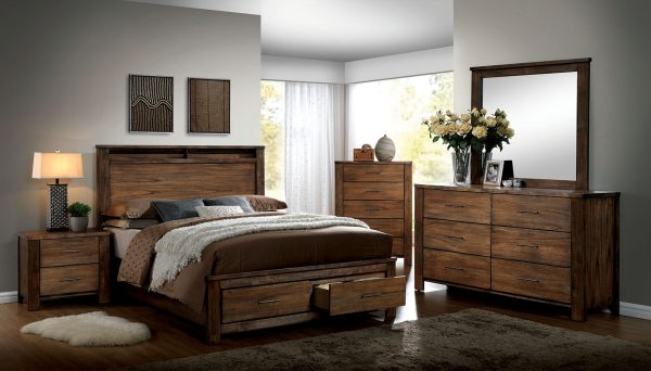 """The Big Bear"" Woodsy Solid Oak Bedroom Collection"