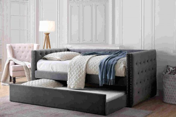 """The Tuxedo"" Daybed with Trundle – 3 Colors"