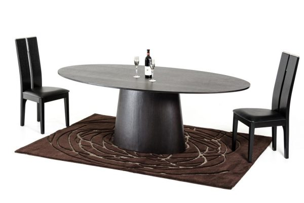 """The Urban""  Wenge Oval Dining Set"