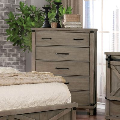 """The Katelyn"" Gray Bedroom Collection"