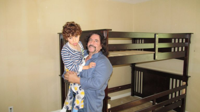 Assembling a Bunk Bed for a Special Needs Family