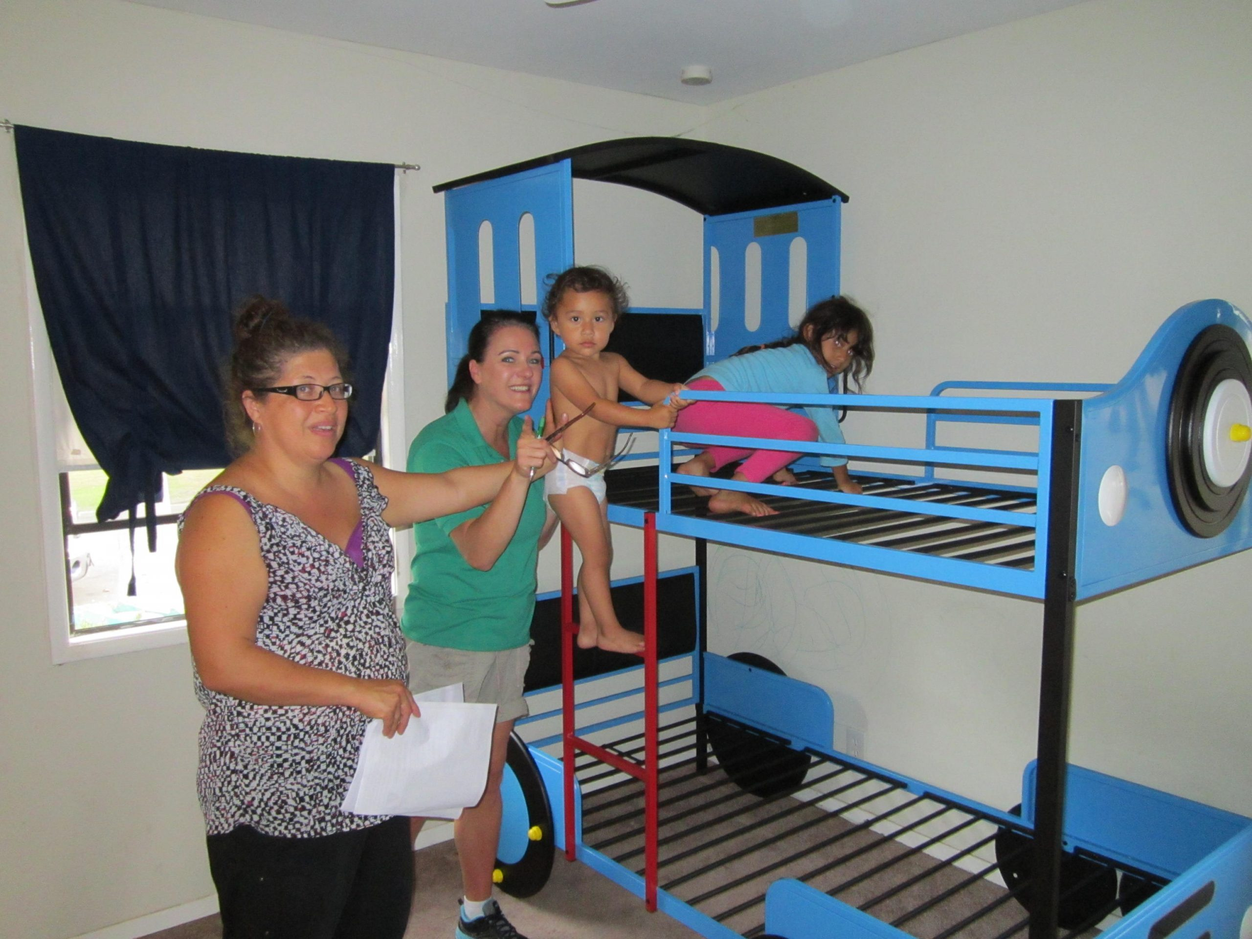 Thomas the Train Express Bunk Bed Delivery and Install